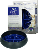 Eat Slow Live Longer Tumble Feeder Blauw_7