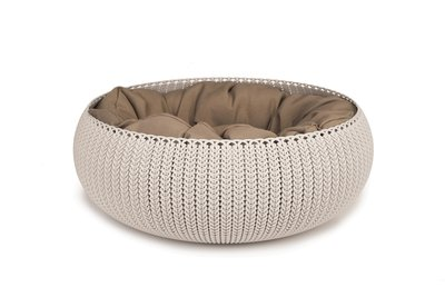 Curver Cozy Pet Bed Creme