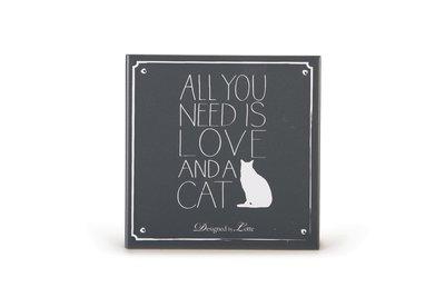 DBL Wandtegel Need Kat