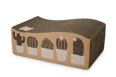 Beeztees kartonnen krabspeelgoed Cactus
