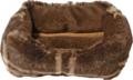 Hamsterdivan-Bruin-ruit