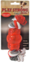 Playstrong-Rubberen-Mini-Chew-met-flostouw-Rood