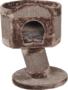 Krabton-op-voet-1-gaats-70-cm-Bruin-Mocca