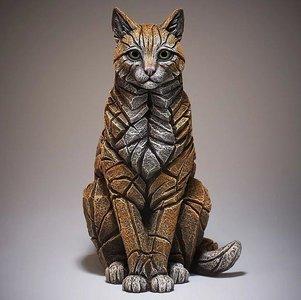 Cat Sitting Ginger