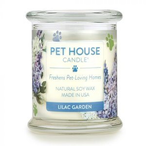 Renske Pet House Candle Lilac Garden