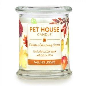 Renske Pet House Candle Falling Leaves