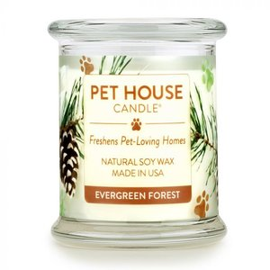 Renske Pet House Candle Evergreen Forest