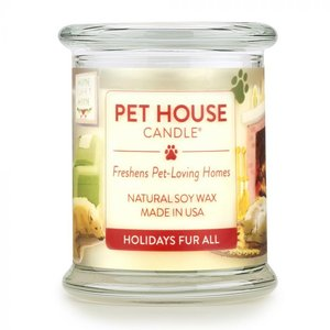 Renske Pet House Candle Holiday Fur All