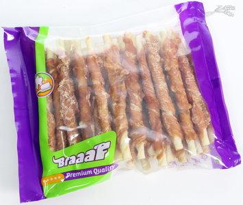 Braaaf Roll Sticks Eend 12,5 cm per 30 stuks verpakt