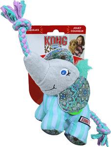 Kong Knots Carnival olifant, small/medium