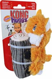 Kong 'Huggz Hiderz' fox, small