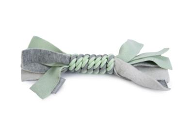 Beeztees Puppy Speeltouw Kaz Hondenspeelgoed Grijs/Groen 25 cm
