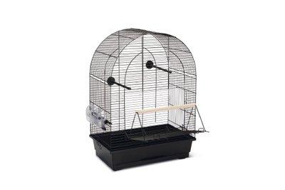Beeztees Lucie 2 Grote Deur Vogelkooi Zwart
