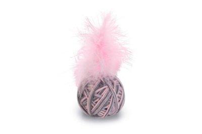 Beeztees Bal+Veer Ming Kattenspeelgoed Roze Dia. 5 cm