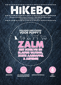 Hikebo Puppy Medium/Large Zalm