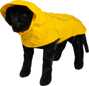 JV Fisherman Jacket regenjas geel