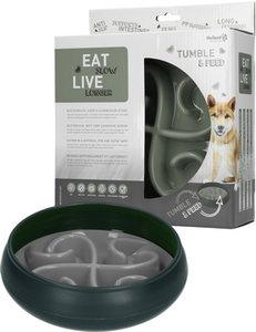 Eat Slow Live Longer Tumble Feeder Grijs