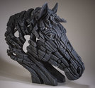 Horse-Bust-Black