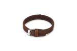 Beeztees-Buffalo-Hondenhalsband-met-strass-Bruin